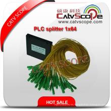 Divisor de alta calidad del PLC de 1 * 64 / acoplador óptico