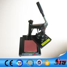 Máquina de la prensa del calor del logotipo del manual del certificado del CE para la venta