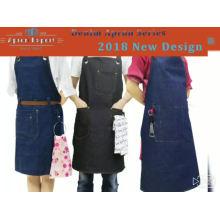 2018KEFEI denim apron,leather apron,jeans apron