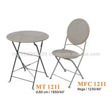 Muebles de metal - juego de jardín y bistro set 1