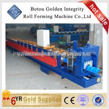 Machine de formage de rouleaux de toit en métal, machine de coupe de métal Ridge