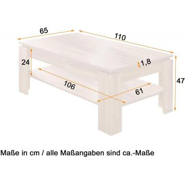 table basse en onyx moderne en bois