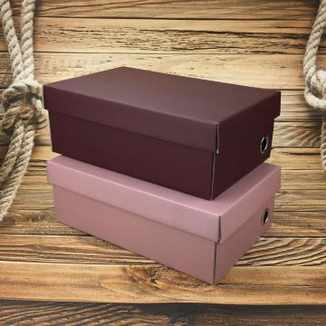 4C Custom Paper Corrugated Shoe Box with Lids