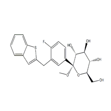Methyl 1-C-[3-(Benzo[b]thien-2-YlMethyl)-4-Fluorophenyl]- CAS 1034305-23-1