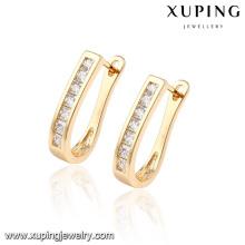 92294 Mode Vente Chaude Mexique Style Cubique Zircone Bijoux Boucle D'oreille Huggie