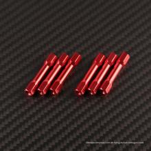 M3 Gewinde aus Aluminium mit Innensechskant und Abstandshalter