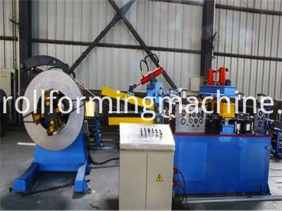 Storage Shelf Roll Forming Machine