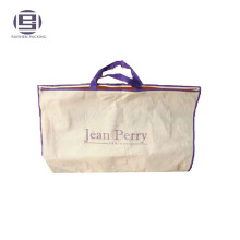 Custom non woven promotional packing bags with zipper
