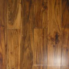 Plancher de bois franc d'ingénierie de choix d'Acacia plat à vendre