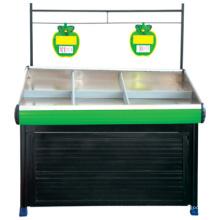 Fruta y verdura por mayor popular Mostrar estantes, estante de la legumbre para tienda, vegetal está parado para la venta