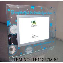 Mirror Glass Photo Frame