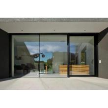 Villa porte coulissante extérieure en aluminium