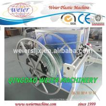 Fibra de PVC trenzado manguera máquina cadena de producción de tubería de PVC