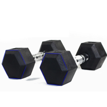 Barbell Steel Dumbbell Hand Weights Anti-slip Anti-roll Exercise Workout Dumbbells