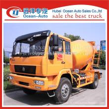 SINOTRUK 6cbm camião betoneira com 4 * 2 condutor