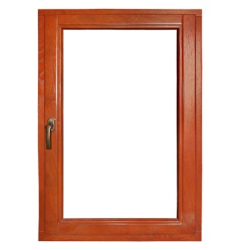 Aluminum Single Casement Window with Invisible Screen