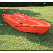 China 3.6m PE Fishing Boat Hard Motor Plastic Boat