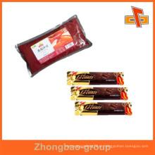 Saquinho de café plástico impresso de qualidade alimentar / saquinho de açúcar / saquinho de molho de pimenta / saquinho de ketchup de tomate / saquinho / saquinho vazio