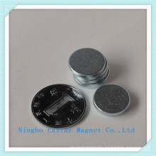 N45 Disc NdFeB Permanent Magnet with Zinc Plating