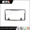 Zinc Alloy Die Casting for Auto License Plate Frame
