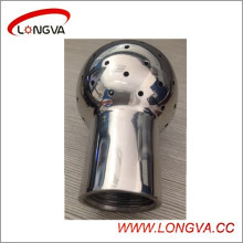 Sanitary 316L Fixed Bsp Female Cleaning Ball