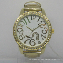 Montres promotionnelles d'or de mode (HAL-1223)