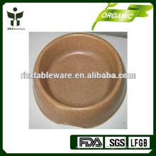 Tigela de cão de bambu 100% natural