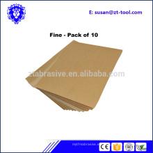 papel de lija abrasivo de pulido de la venta caliente del bajo precio para la madera