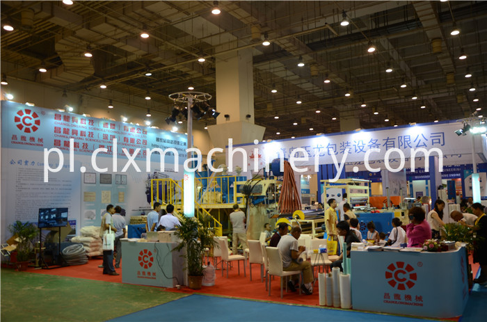 Qingdao Exhibition 2016 Changlong Stretch Film Equipment
