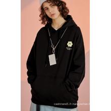 Pull à capuche en tricot à la mode pour hommes