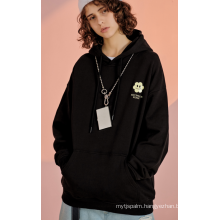 Fashionable men's knit Hoodie Pullover Cotton sweatershirt
