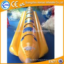 Bateau banane gonflable à prix bon marché à la fine pointe de la technologie, bateau pneumatique de qualité supérieure