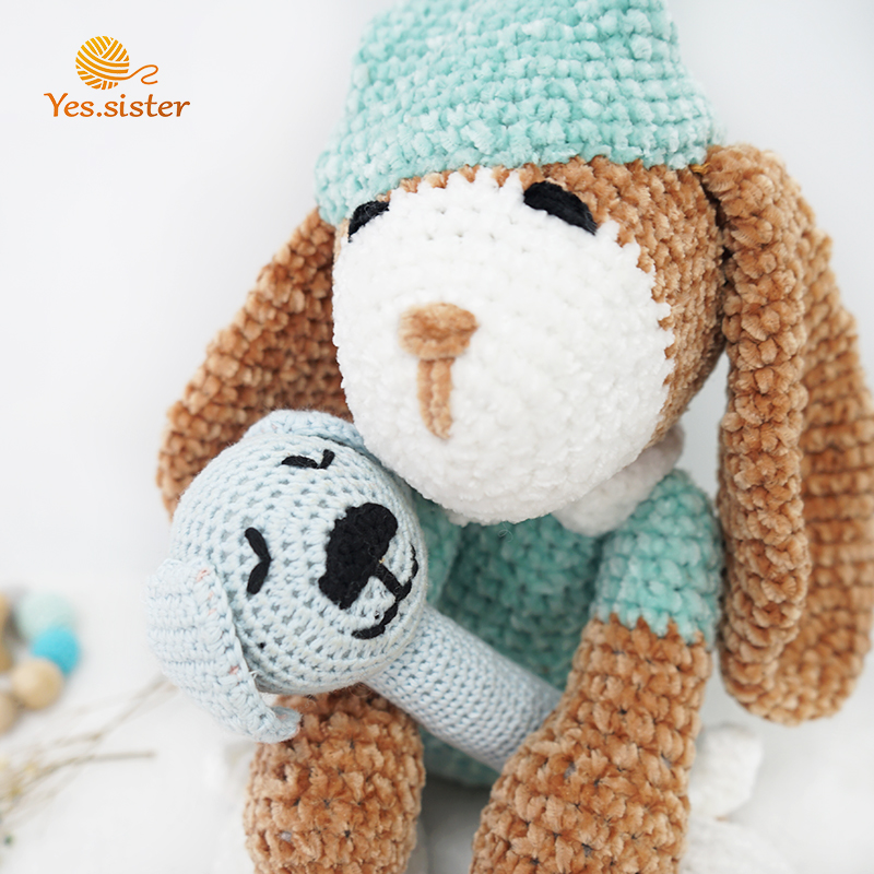 Crochet Animal Dog Toy