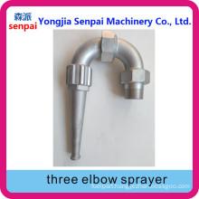 Three Elbow Sprayer