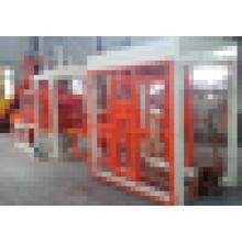 Бетонный полый блок и машина для производства кирпича