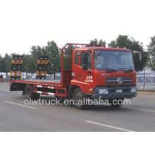 Alta calidad dongfeng cama plana camión