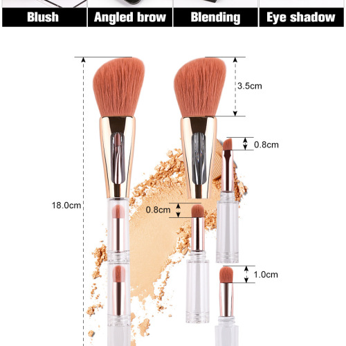 Kit de maquillage pinceau 4 en 1