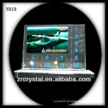Cristal de foto de impressão colorida Y019