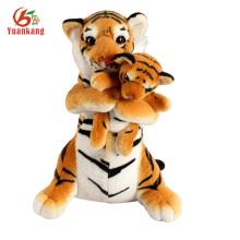 Brinquedo de pelúcia tigre bonito recheado personalizado