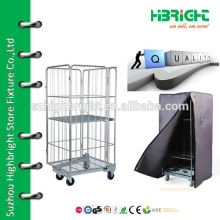 warehouse logistic roll hand carts with wheels