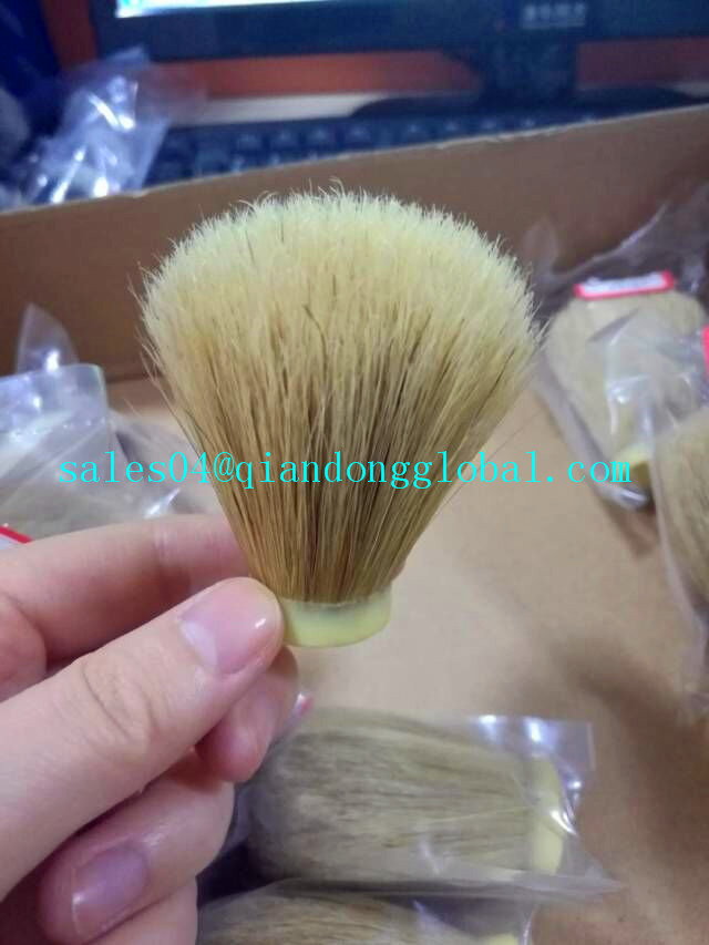 Bristle Shaving Brush Knot
