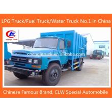 4 X 2 Dongfeng Camion a ordena caminhão de lixo