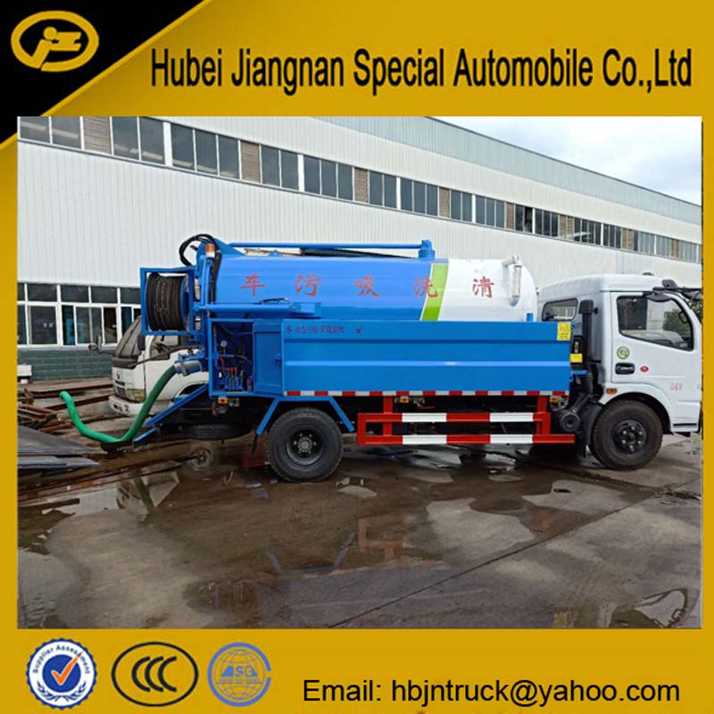 Sewer Jetting Truck