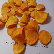 Aperitivos fritos saludables vf chip de zanahoria