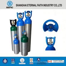 Nouveau cylindre de gaz en aluminium sans couture à haute pression de 2014 (LWH180-10-15)
