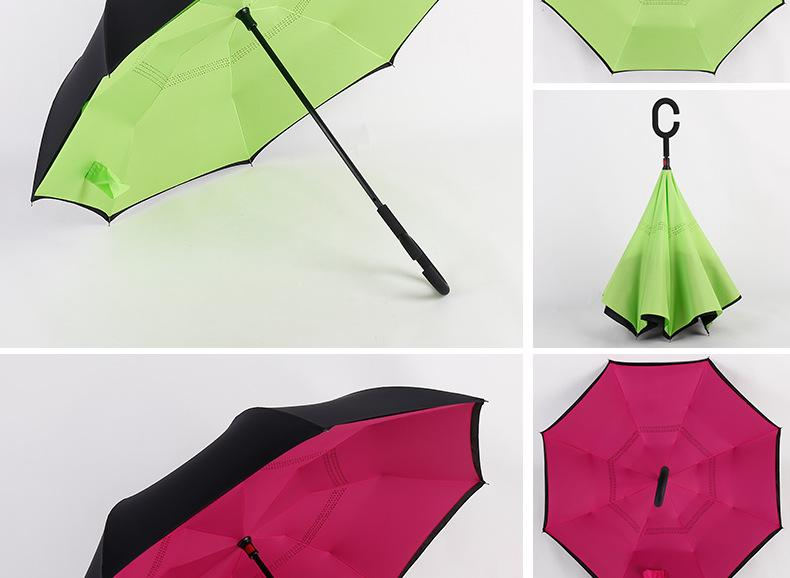 Hotsale new model custom printed advertising inverted umbrella03