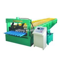 roofing corrugated steel sheet roll forming machine