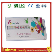 Non-Toxic Acrylic Paint 12 Colors for Kids