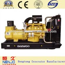 1500об / мин 160КВТ дизельный генератор Daewoo тепловозный