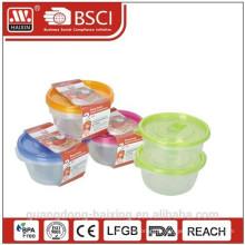Récipient de nourriture micro-ondes coloré (0,8 L 2p.)